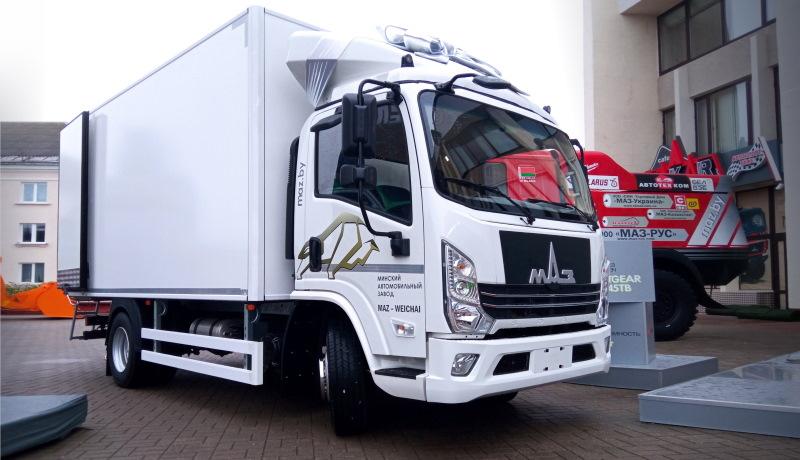 МАЗ представил «маленький» грузовик, скопированный с китайской модели