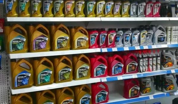 Покупка автомобильного масла