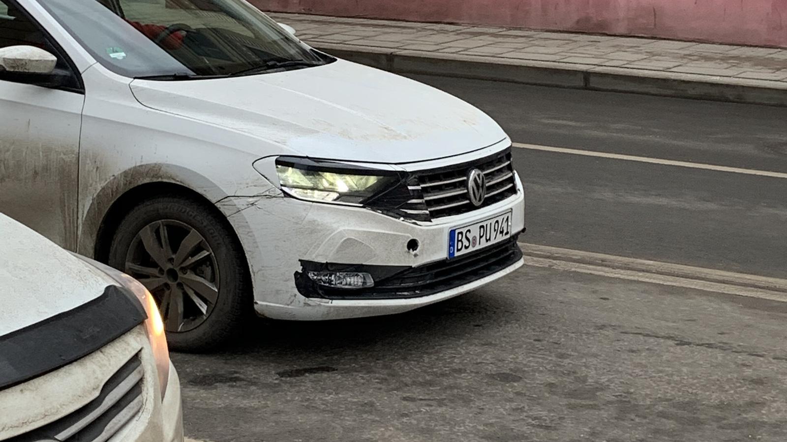 Российский лифтбек Volkswagen Polo застукали на испытаниях в Европе