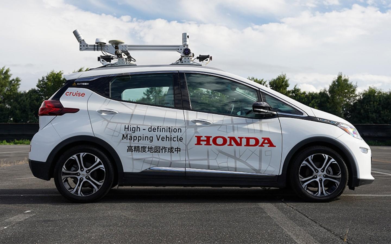 Honda проведет тесты беспилотников совместной разработки с GM