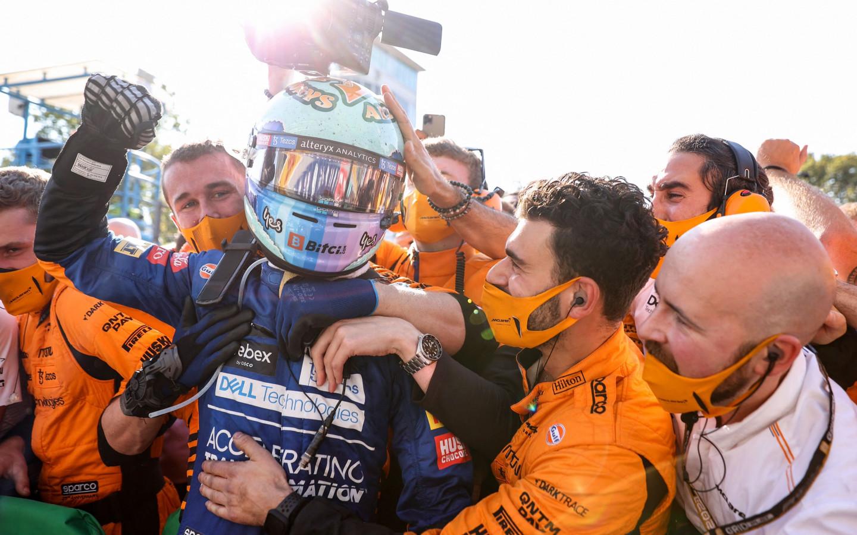 Риккардо выиграл Гран-при Италии. Итоги гонки