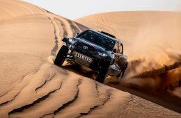 Toyota представила гоночный внедорожник с мотором от Land Cruiser 300