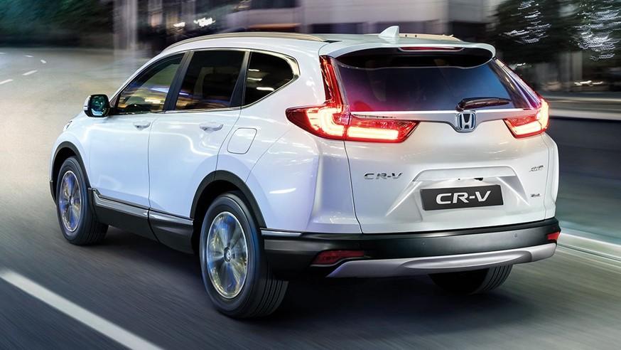 Honda готовит CR-V следующего поколения: новое изображение гибридного кроссовера