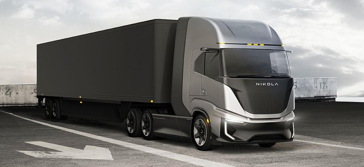 Электрический тягач Nikola Tre станет серийным до конца года, водородный — в 2023 году