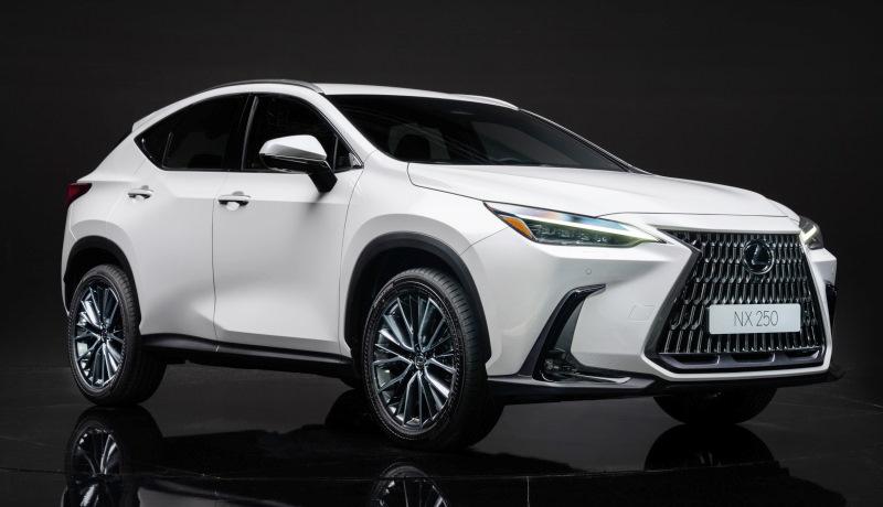 Появилась информация о версиях нового кроссовера Lexus для России
