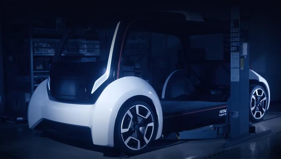 Hitachi разработала плотно упакованное мотор-колесо