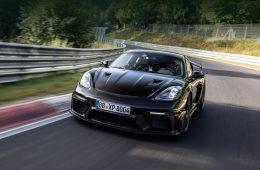 Porsche опубликовала результаты заезда 718 Cayman GT4 RS на Нюрбургринге