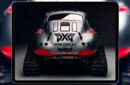 Porsche 1956 года оборудовали гусеницами для участия в ралли