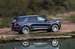 Недавно начавший карьеру «шестой» Ford Explorer уже пережил рестайлинг